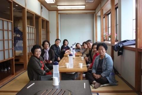 일본 쓰시마 장모님과 아내 및 가족들