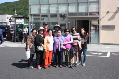 일본 쓰시마 처가의 가족들
