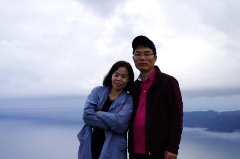 일본 쓰시마 신상아와 김수종 부부