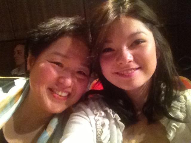 '엄마와 딸' 독일 교민 도미경씨(왼쪽)와 외동딸 야나 양.