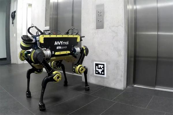 취리히연방공과대학의 네발 로봇 '애니멀'(ANYmal)