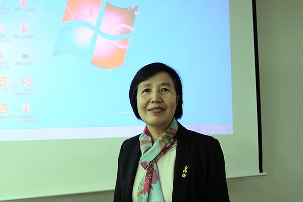박미자 교사 모습