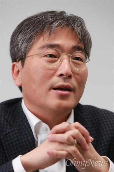 오마이뉴스 이병한 뉴스게릴라본부장.