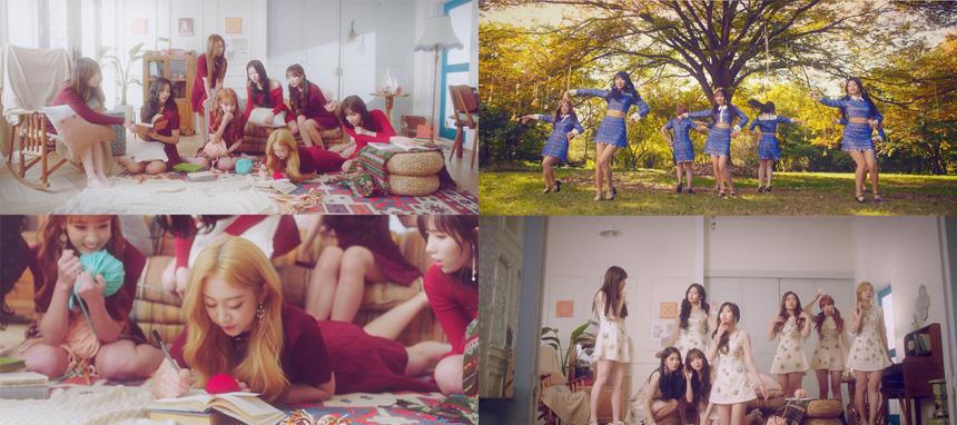 러블리즈의 신곡 `종소리` 뮤직비디오 주요 장면 (화면 캡쳐)