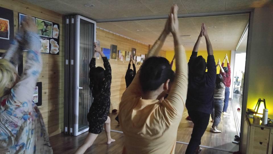 내적전환 프로그램의 하나인 춤수업 소란 제공