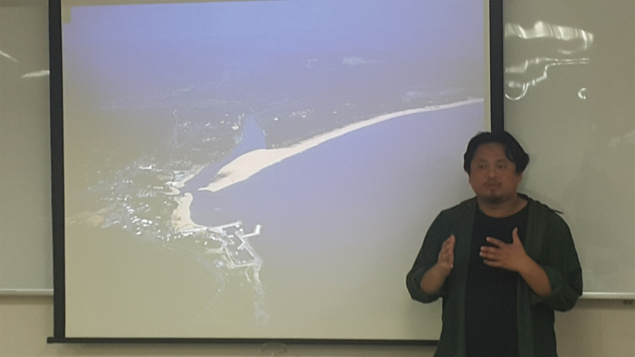 대만 4번째 원전 건설 예정지 대만 4번째 원전 건설 예정지는 해수욕장과 소규모 어업이 이루어지던 해변가이다.