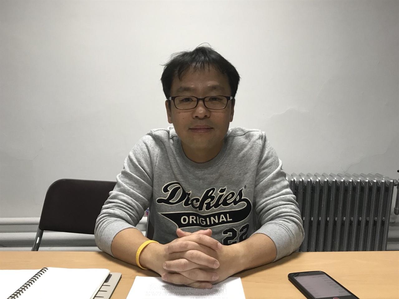 윤원섭 론노조 KBS 본부 사무처장