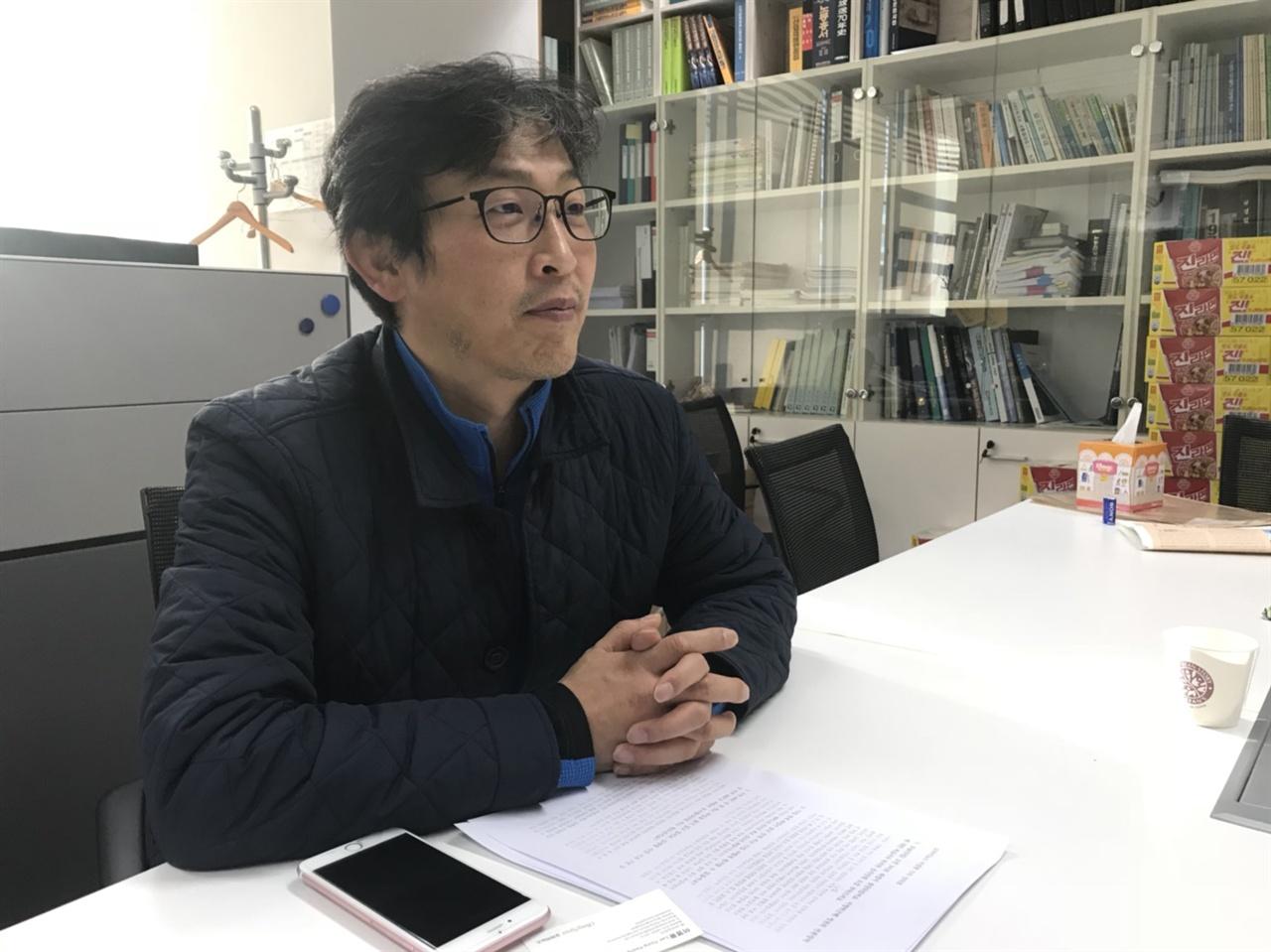 도건협 MBC 노조 수석 부위원장