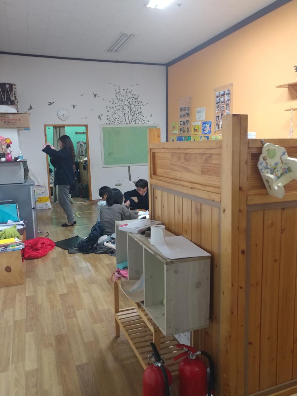 주민두레생협 용인수지점이 운영하는 마실방의 모습