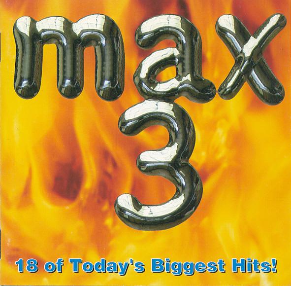 1990년대 팝 편집음반(컴필레이션) 시리즈로 인기를 얻었던 < MAX 3 > 표지.  당시 가요-팝 음반 시장에서 기존 인기곡들을 모은 이런 종류의 음반은 나름 불황을 겪던 업계의 효자 상품 중 하나였다