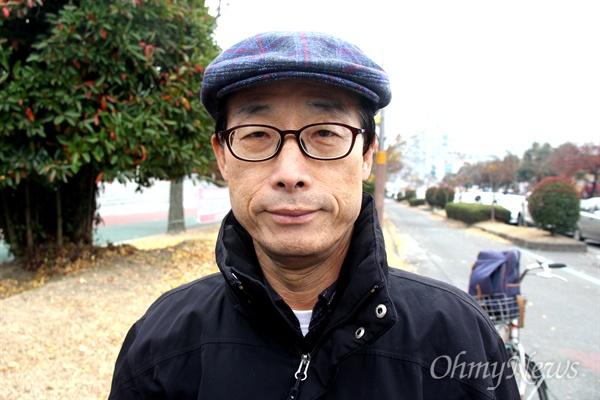 박종권 탈핵경남시민행동 대표.