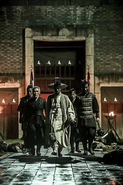 영화 <역모 : 반란의 시대>의 한 장면