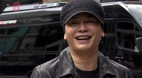 최근 방영되고 있는 아이돌 오디션 프로그램 JTBC <믹스나인>의 한 장면.  이 프로그램에서 가장 화제와 관심을 모으는 인물은 경연 참가자 연습생들이 아니라 양현석 프로듀서다.
