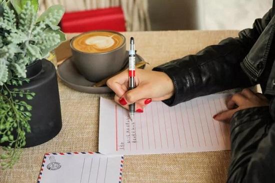 커피와 손편지