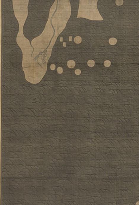 강리도 아프리카 부분 류코쿠 디지털판