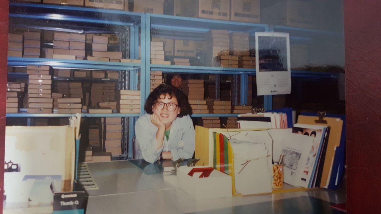 이미옥 조합원은 1988년 11월 kec에 입사했다. 재품관리 부서 등 사무직으로 30년째 근속했다.