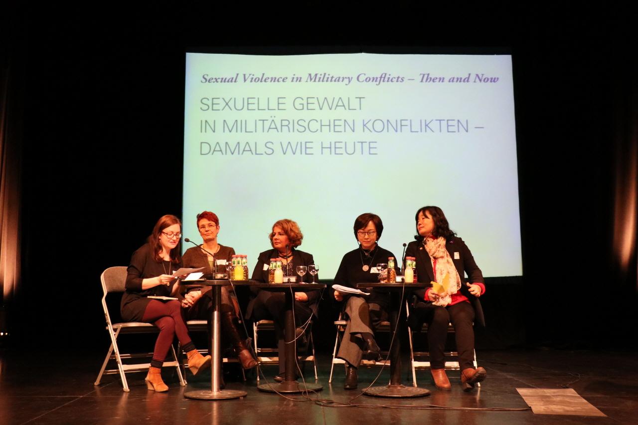 'EU의 위안부 결의안 채택' 10주년 컨퍼런스 '전쟁 분쟁속 여성 성폭력'
