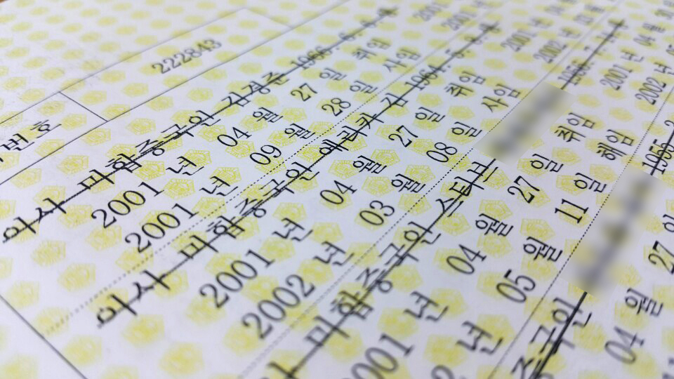옵셔널 캐피털(옛 옵셔널 벤쳐스)의 2004년 등기부등본.