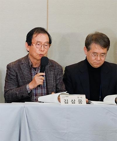 김삼웅 전 관장.