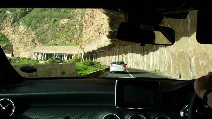 체프먼스 피크 드라이브 길 세계 10대 드라이브 코스 중 하나라는 아름다운 절벽 바닷길을 달리는 자동차 도로