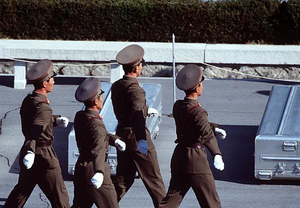 인민군 병사들.