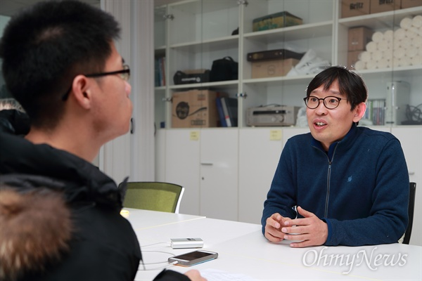 MBC < PD수첩 > 'MBC의 몰락, 7년의 기록'을 연출한 김재영 PD.