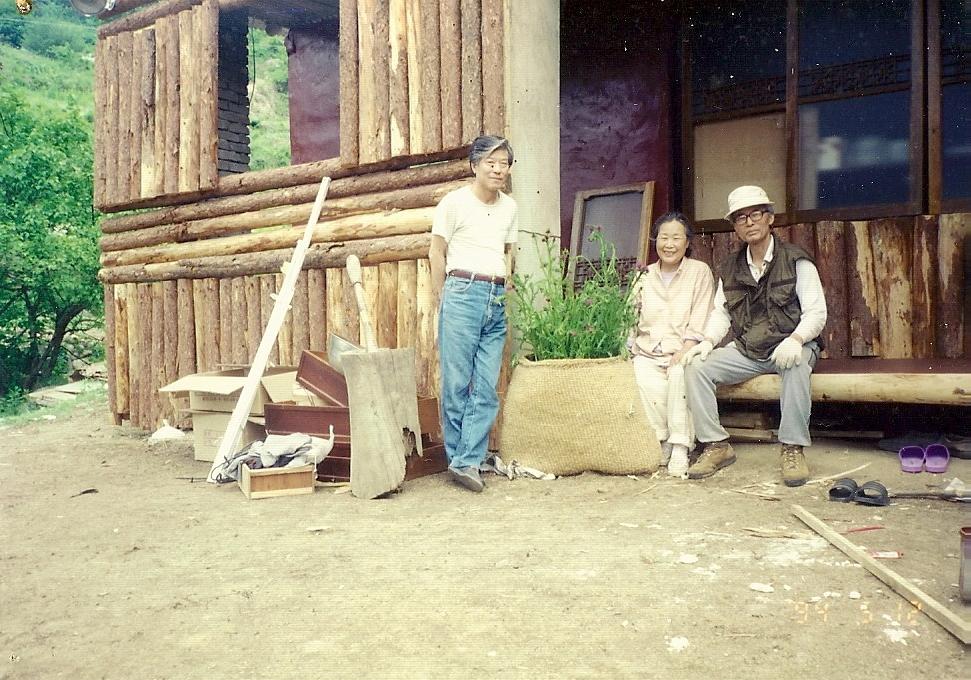 1994년 5월 12일 충주: 문은희 화백과 황의철 교수