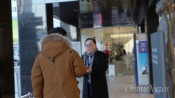 다큐 <4대강 부역자와 저항자들>팀이 '스크루 박' 박석순 이화여대 교수를 찾아갔다.