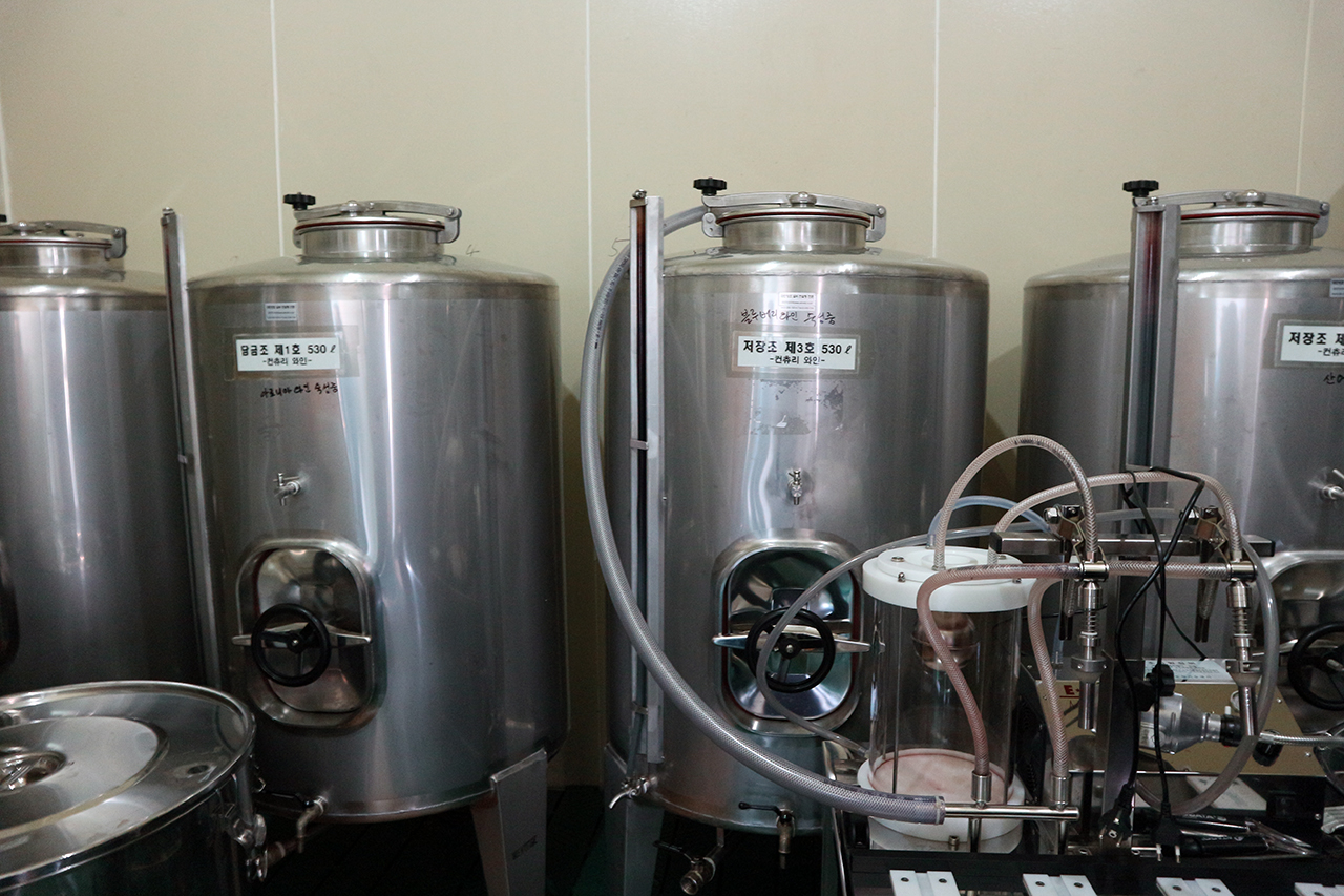 컨츄리 와인 생산시설
