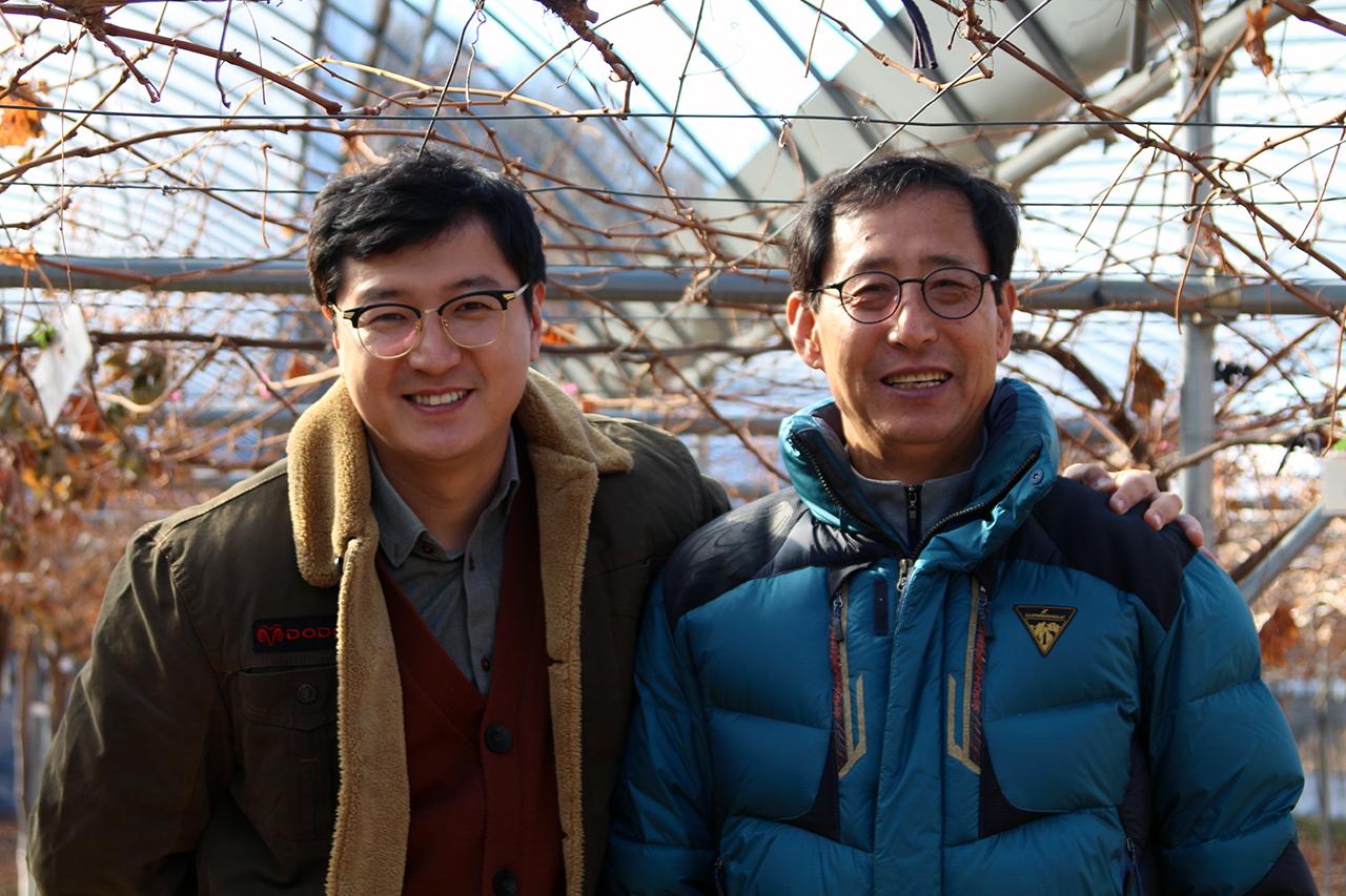 김마정씨와 김덕현 대표