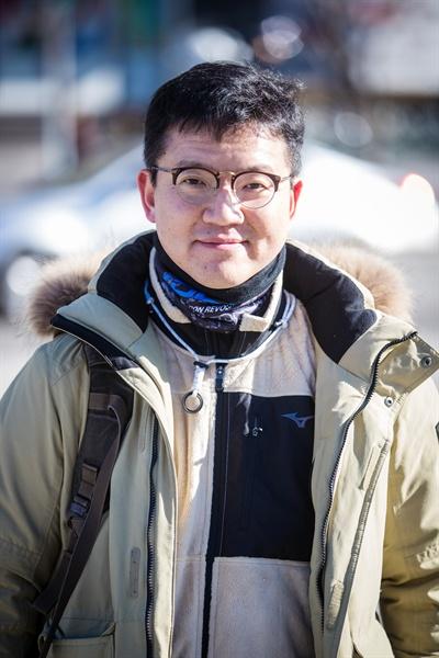 오마이뉴스 2017년 뉴스게릴라상을 수상한 지유석 시민기자.