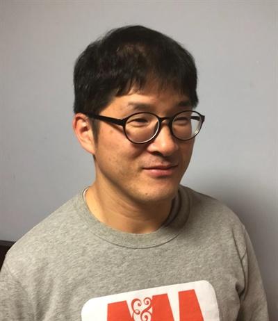 오마이뉴스 '2월22일상'을 수상한 권오윤 기자