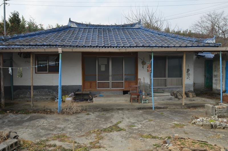 전남 구례 동산마을에 있는 수수가 살고 있는 집.