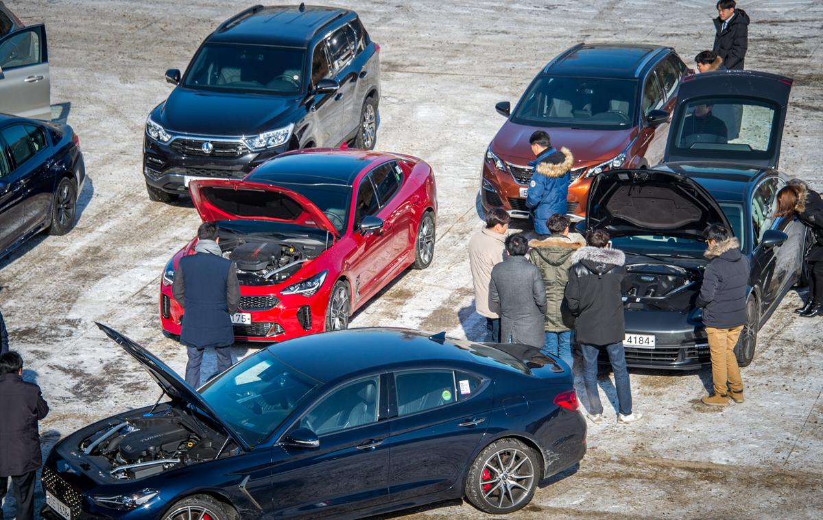 한국자동차전문기자협회가 '2018 올해의 차(Car Of The Year 2016)' 선정을 위한 실차 테스트를 지난 19일, 경기도 파주 헤이리마을에서 개최했다.