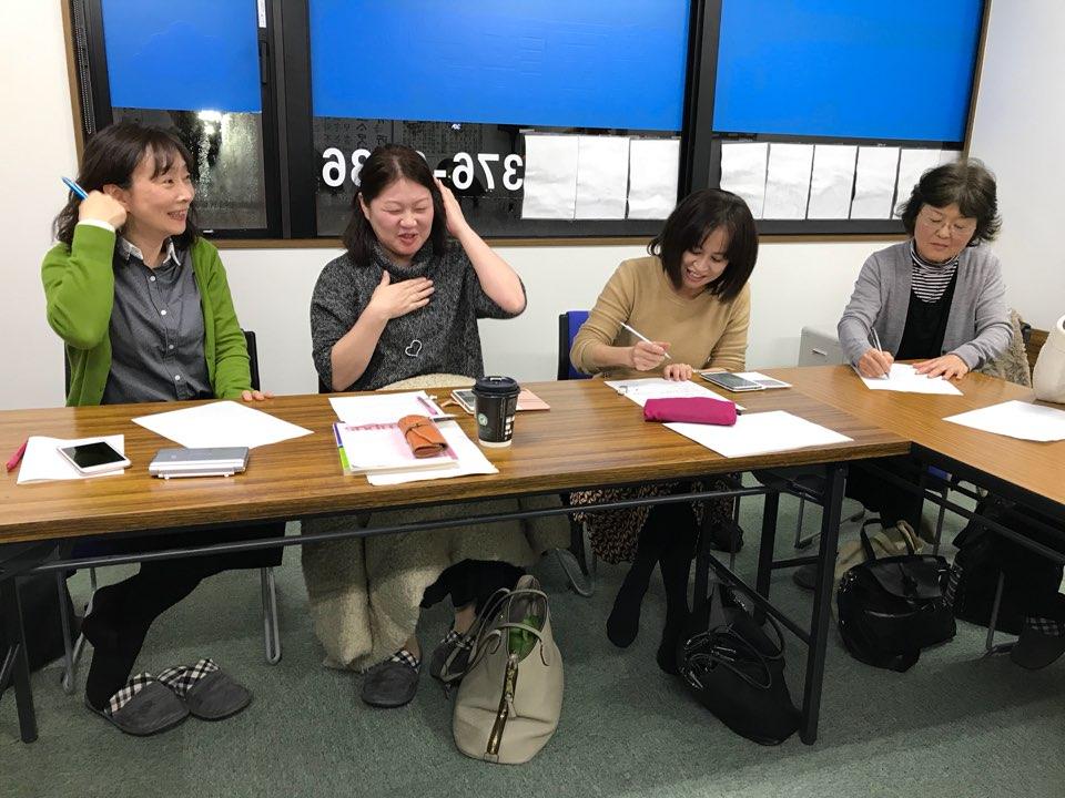 """""""한국어 어렵지만 재미있어요"""" 삿포로 무지개한국어학원에서 한국어를 배우는 일본인들."""