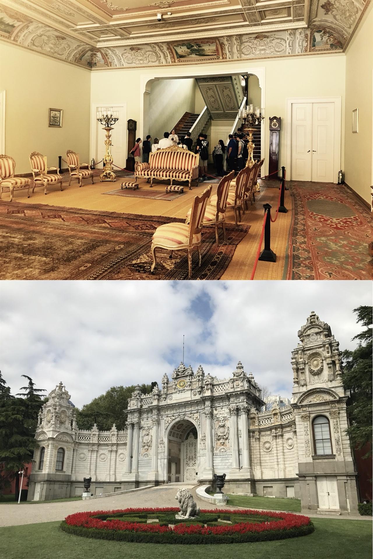 돌마바흐체 궁전 내부