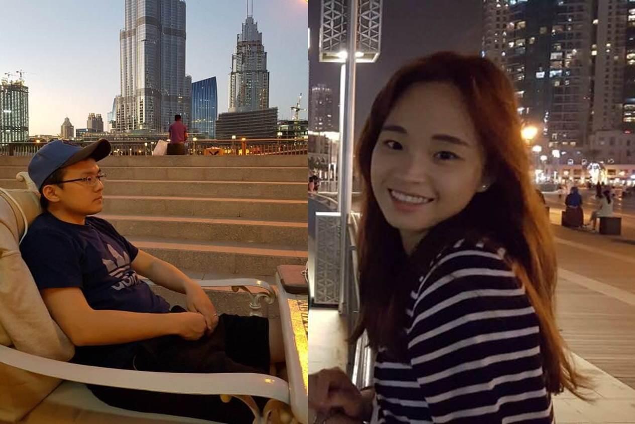 팟캐스트 두바IN의 공동 진행자인 노피디(좌)와 구작가(우)