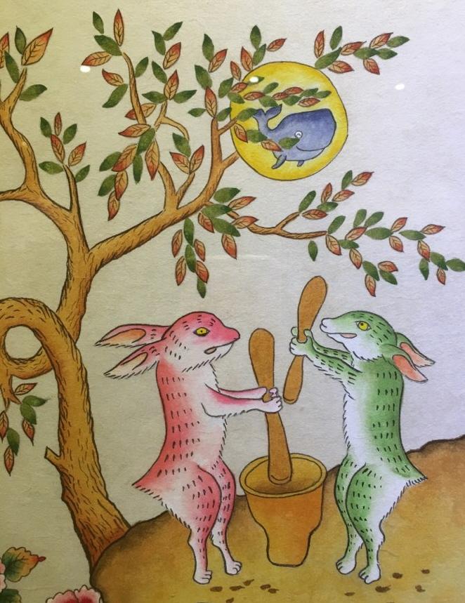 계수나무에도 고래가  토끼가 방아를 찌는 계수나무에도 고래가 있다.