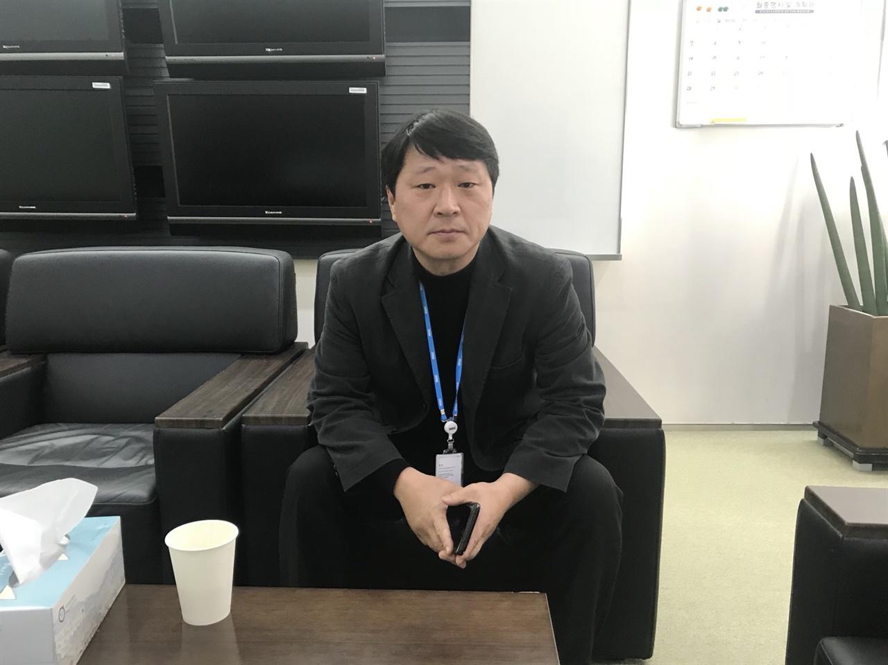 한정우 MBC 보도국장