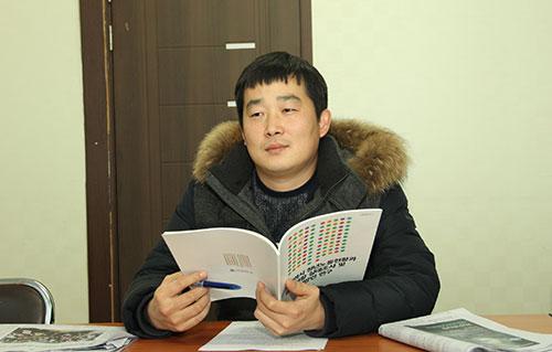 이태선 인천청년유니온 위원장.