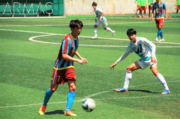 양태렬은 지난 시즌 추계연맹전에서 맹활약했다.