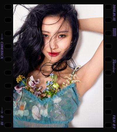 선미 선미가 오는 18일 오후 6시 새 싱글 '주인공'을 발매한다.
