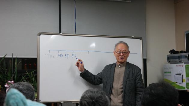 영화 <1987>에 얽힌 비화들을 소개하는 이부영 전 의원