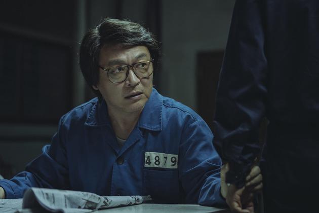 영화 <1987> 스틸컷 중 이부영 역할을 맡은 배우 김의성