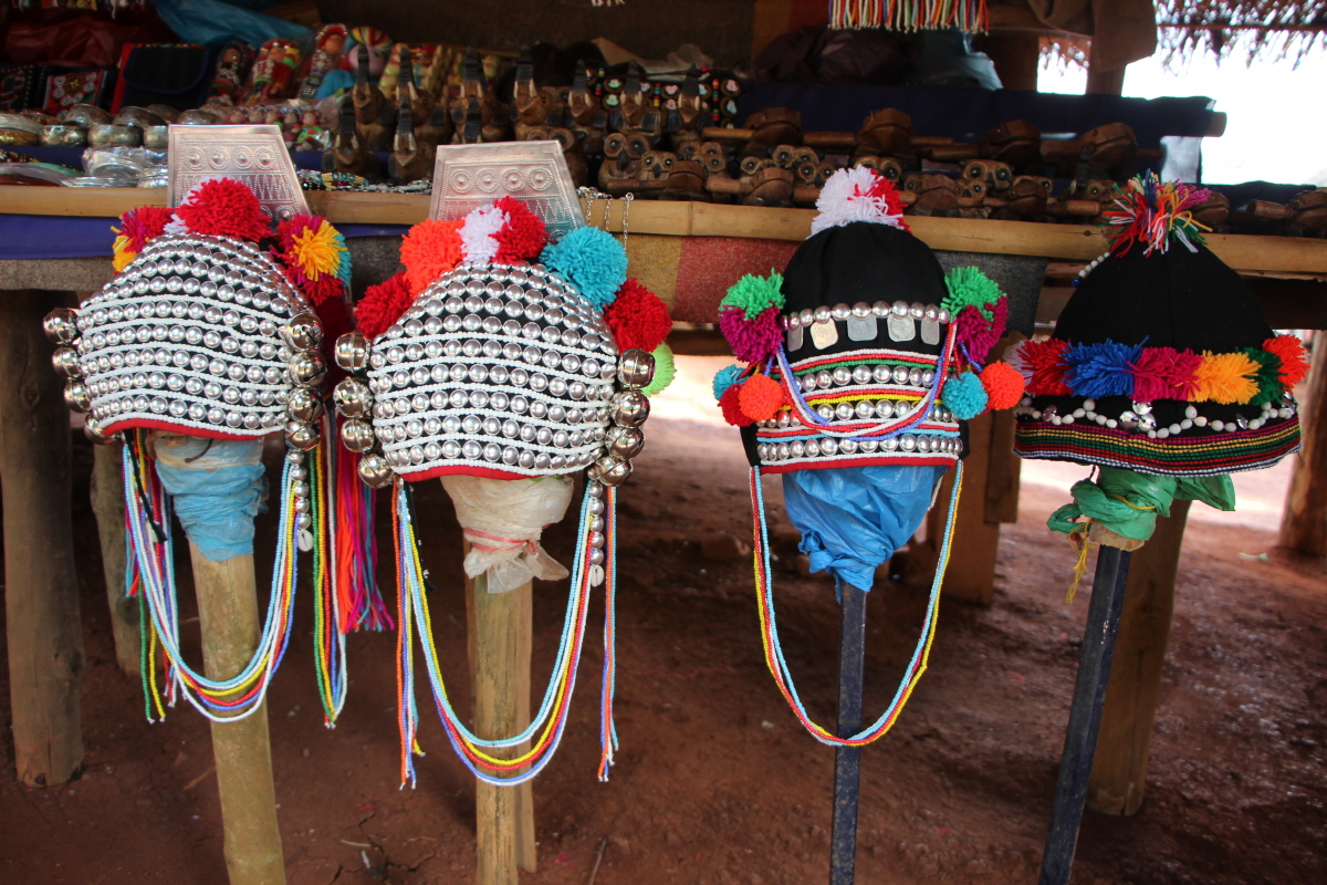 아카족 모자