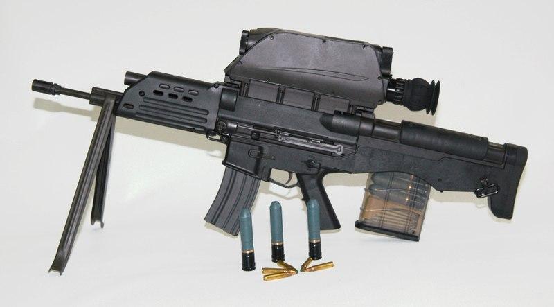 K-11 복합소총. 위키백과