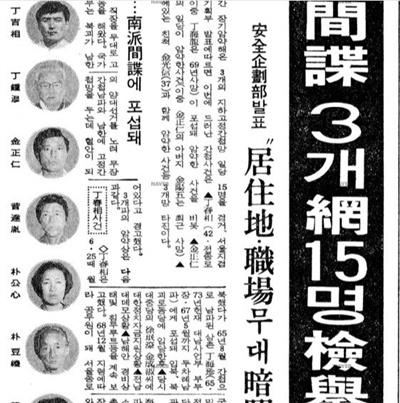 1981년 1월 20일 동아일보 지면.