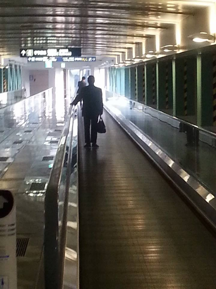 일본에서 입국거부되어 추방된뒤 인천공항에서 만난 오재선