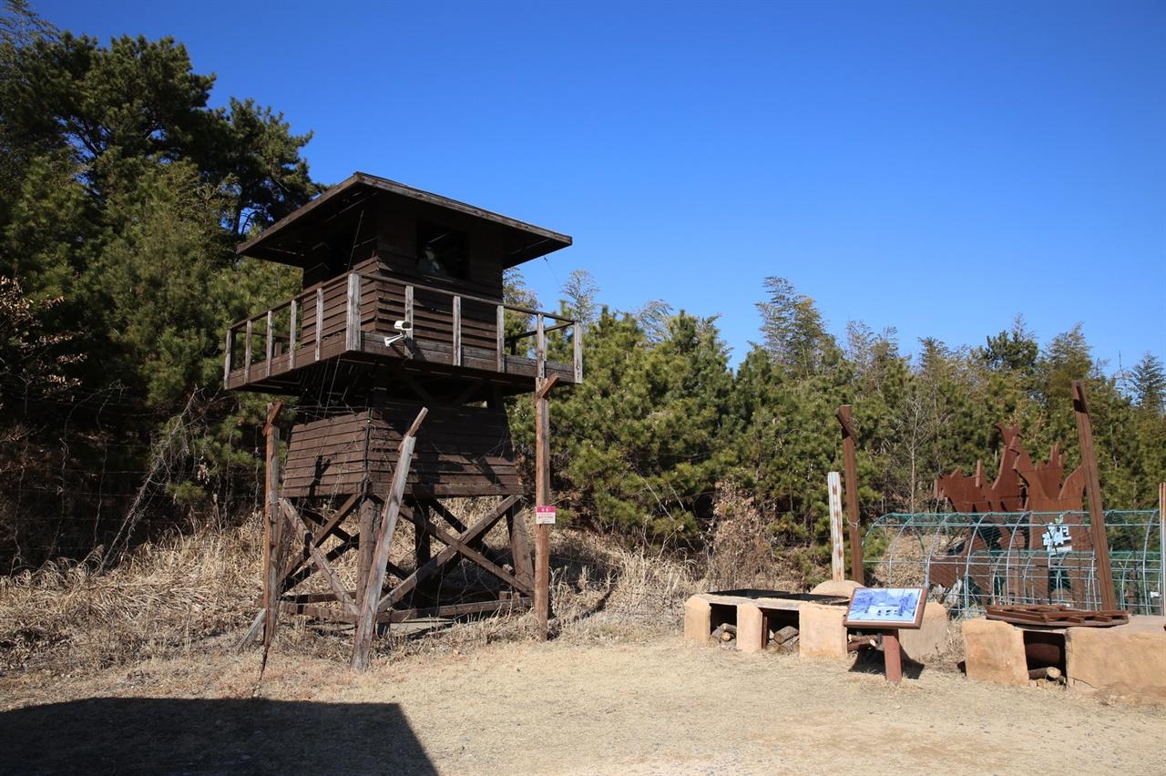 포로수용소 감시탑