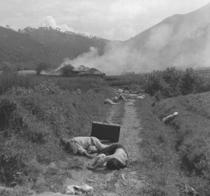 1950. 8. 25. 피란민의 시신들.